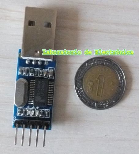módulo comunicación serial uart ttl a usb para arduino, pic