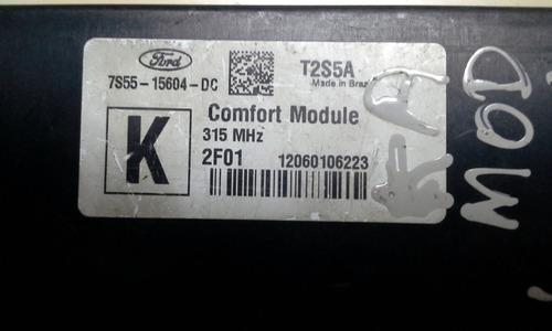 módulo conforto ford fiesta ecosport novo ka original usada