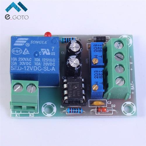 modulo control de carga de baterias 12v