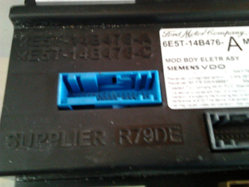modulo control fusiblera ford fusion 6e5t-14b476-a bcm