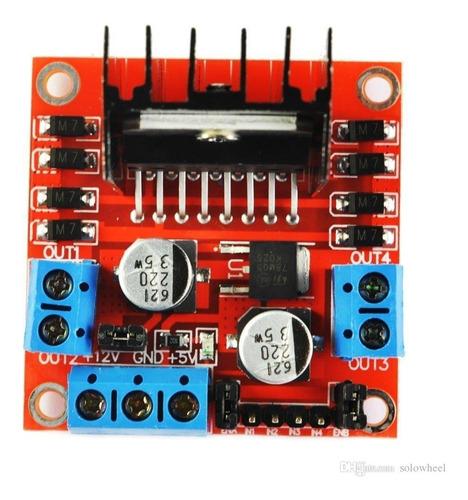 modulo controlador motor l298n puente h driver arduino robot