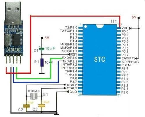 Modulo convertidor pl hx usb ttl rs arduino uart pic