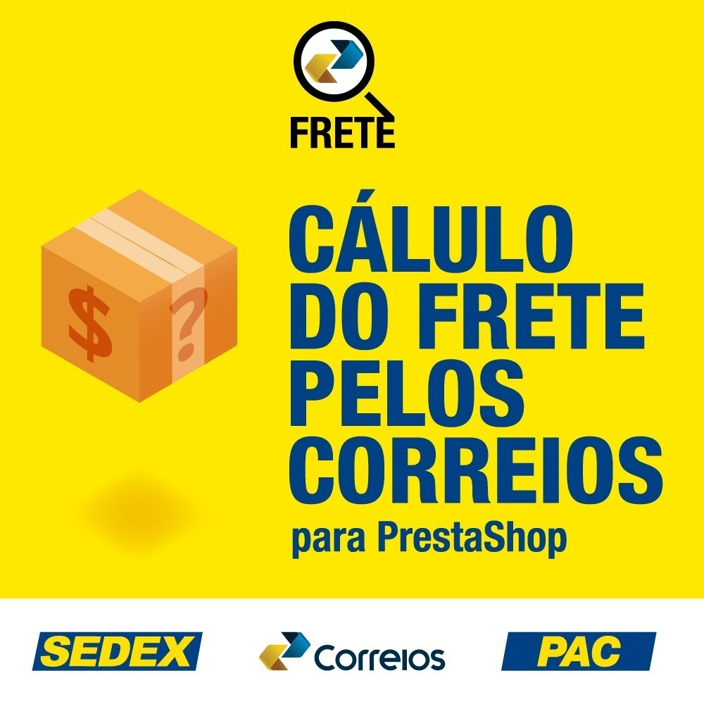 fc5954511c6 Modulo Correios Prestashop V1.6 - Novas Regras Do Correio - R  40