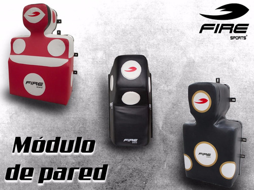 modulo costal de pared golpeo box mma combat art fire sports