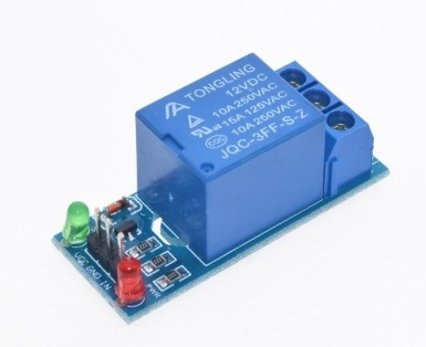 modulo de 1 relevador, relay 5v 10a robotica arduino pic avr