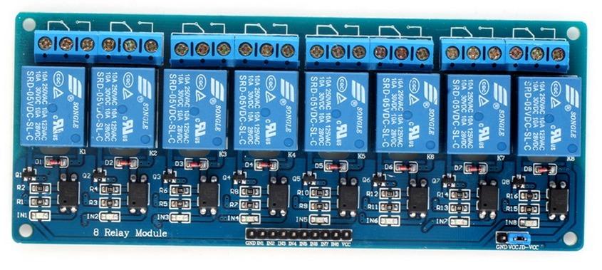 Modulo De 8 Relevadores Para Arduino