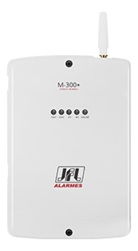 modulo de alarme jfl m-300+ gprs 2 sim cards monitoramento