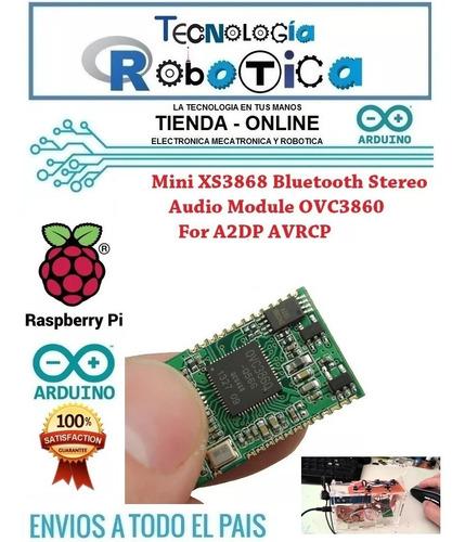 módulo de audio xs3868 bluetooth mini estéreo de sonido