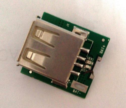 modulo de carga step up usb dc-dc booster 3,7v-5,5v a 5v