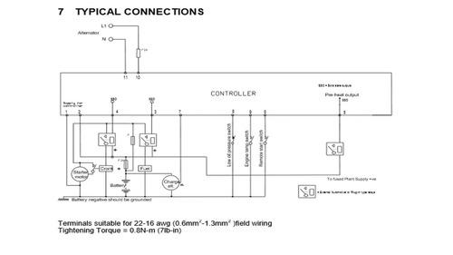 modulo de control dse702