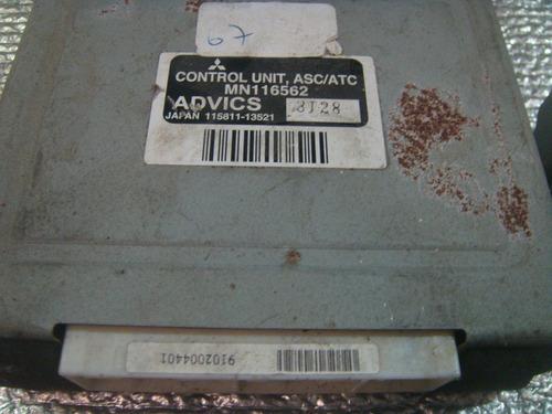 modulo de controle tração mitisubishi asc mn116562