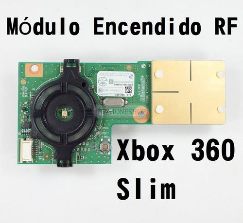 módulo de encendido original xbox 360 slim rf
