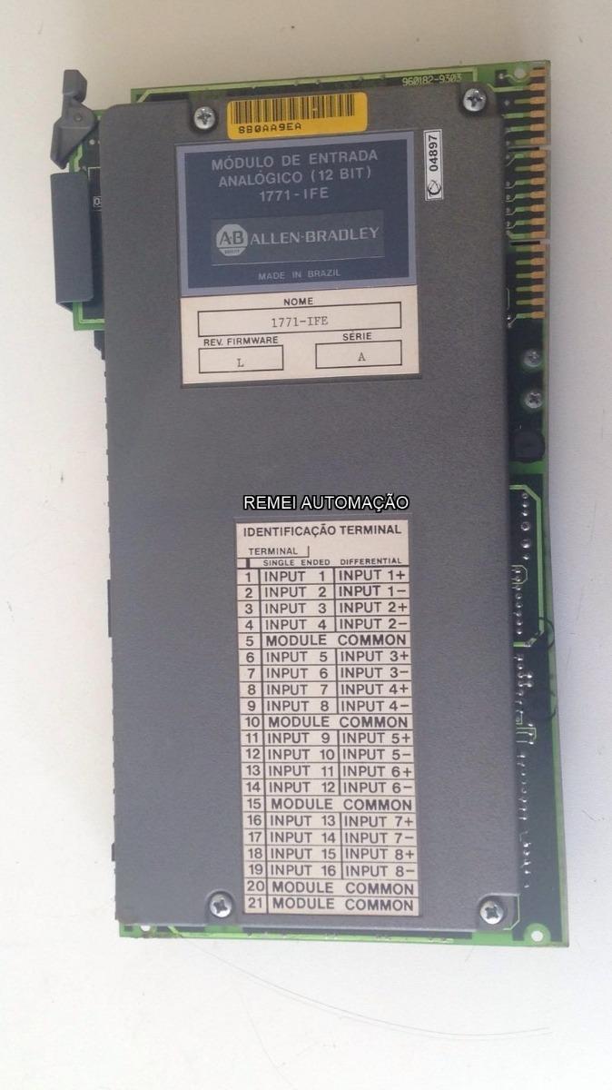 Módulo De Entrada Analógica Pcl5 1771 Ife Siemens