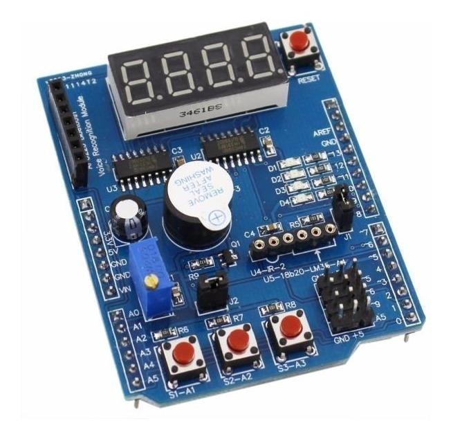 Módulo De Expansión Multifuncional Para Arduino