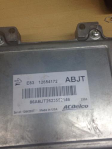 módulo de injeção acdelco 12654172