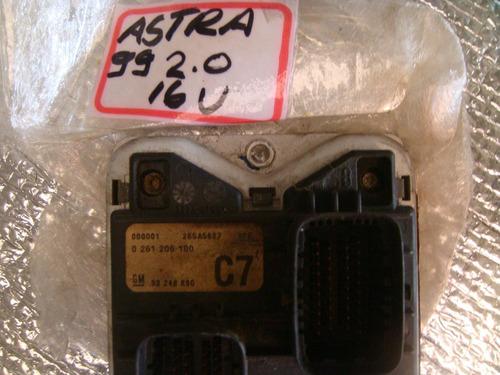 modulo de injeção astra 2.0 16v kit comp 0261206100 c7