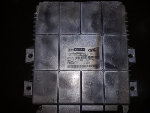 modulo de injeção clio 1.6 8v 96 g8.16ak a 00.00