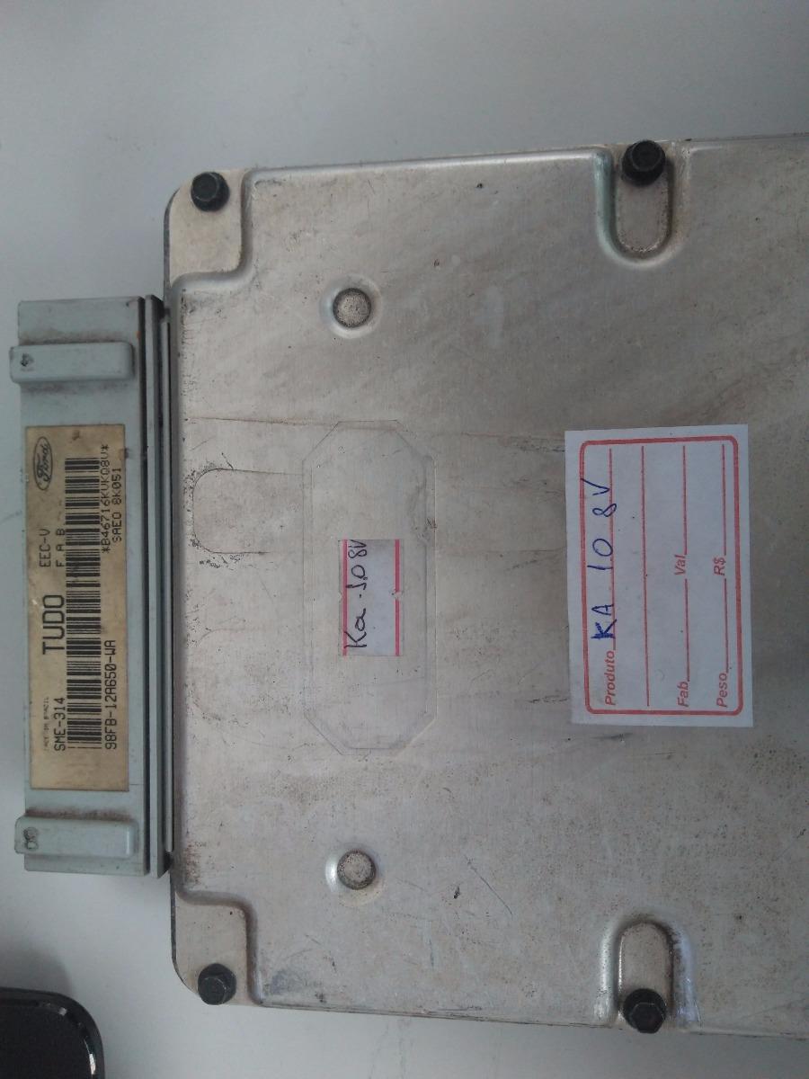 Modulo De Injeção Eletrônica Ford Ka 1 0 8v Eec-v Tudo