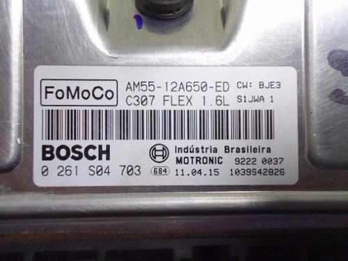 modulo de injeção focus flex 1.6 0261s04703 - am55-12a650-ed