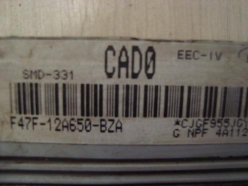 modulo de injeção ford ranger f47f - 12a650 - bza / cado