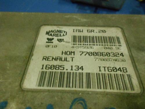 módulo de injeção renault twingo 7700860324