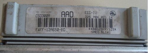 modulo de injeção santana 1.8 93/96 f4ff-12a650-bd aad