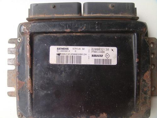 modulo de injeção scenic clio 1.6 16v gas. 8200032138 sirius