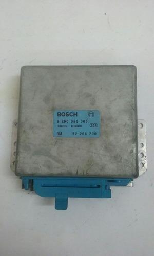 módulo de injeção uno 1.6rmpi bosch 9 260 082 006 ótimo esta