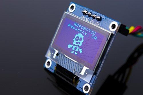 módulo de pantalla lcd acrobotic p/arduino, esp8266 0.96in
