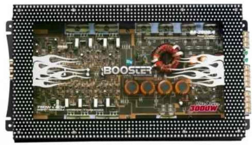 módulo de potência booster ba-2000.4 3000w 4canais 1500 rms
