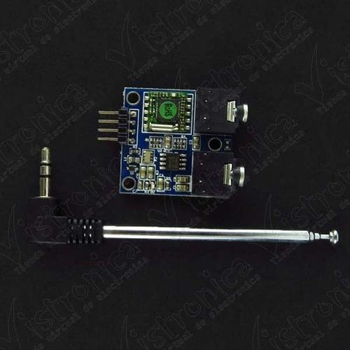 módulo de radio fm tea5767 con antena