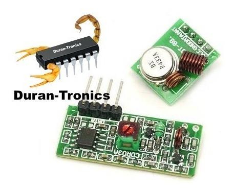 Módulo De Radiofrecuencia Rf Arduino 433mhz