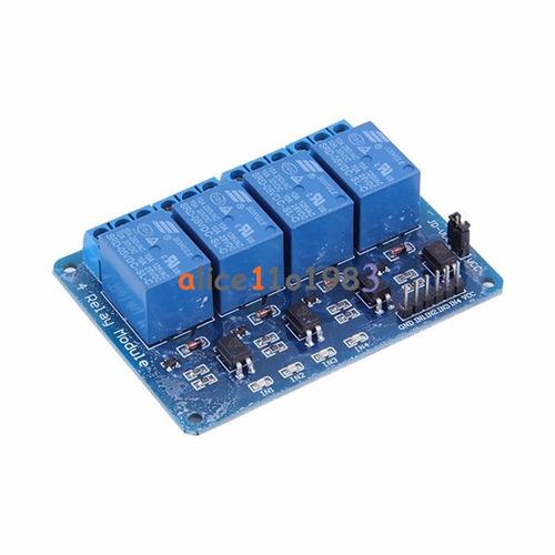 módulo de relé de 4 canales 5v arduino