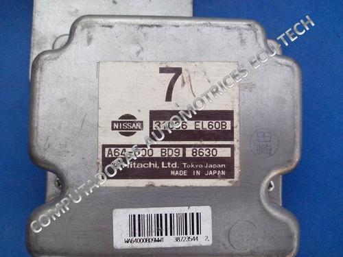 modulo de transmision (tcm) nissan tiida 08. 31036 el60b   7