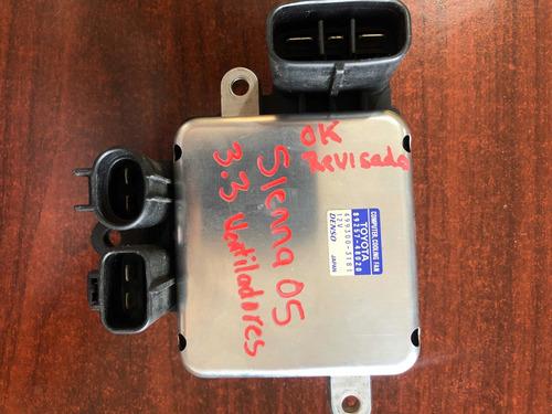 módulo de ventilador sienna 05
