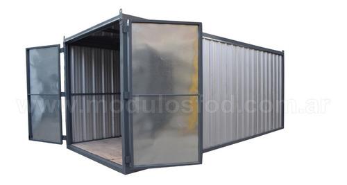 modulo deposito - contenedor - santa fe