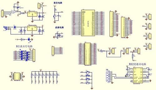 modulo desarrollo para pic con pic16f877a microchip