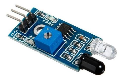 modulo detector sensor de obstaculos infrarrojo arduino pic