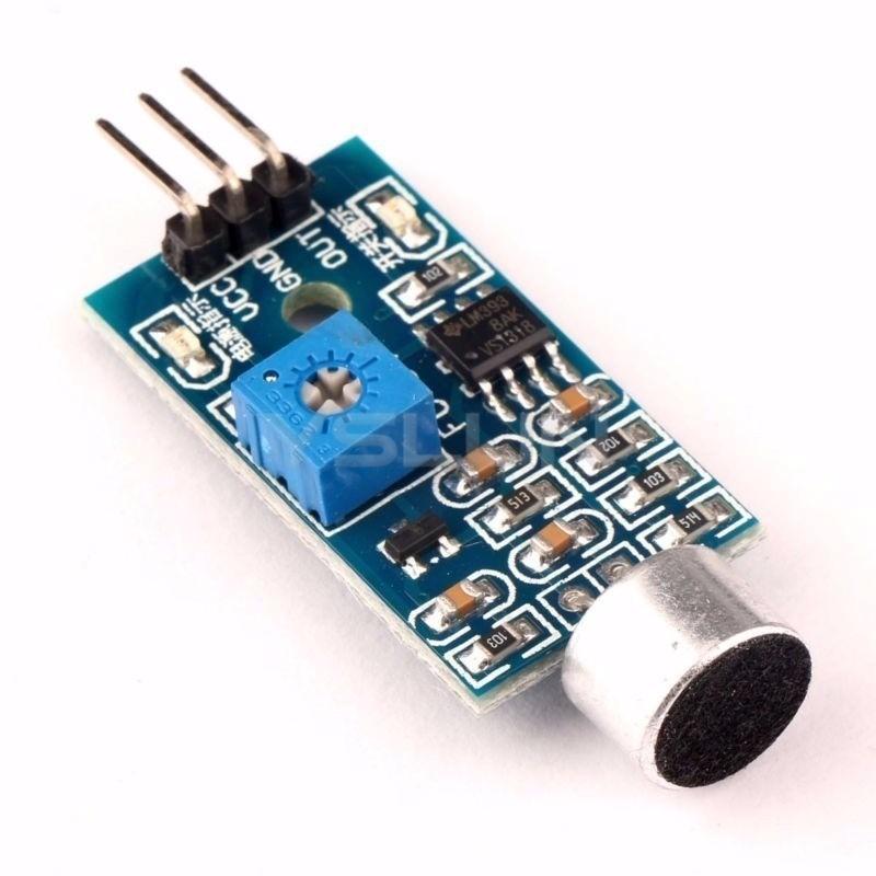 Módulo Detector Sensor De Som Palmas Arduino Frete Grátis