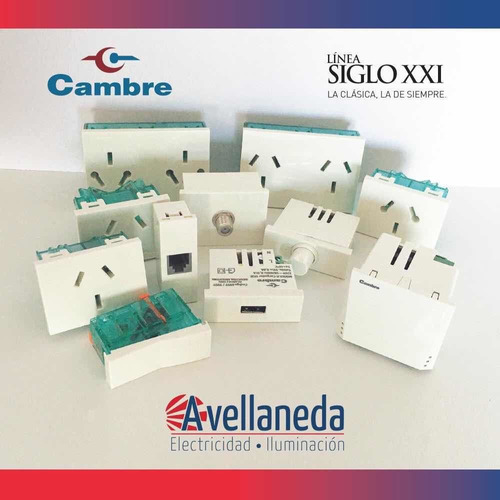 módulo dimmer regulador de luz (apto led) cambre