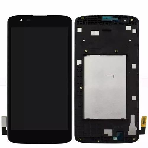módulo display lcd tela touch lg k8 4g dual k350ds k350z