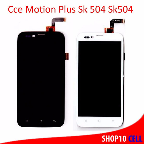 modulo display lcd+touch celular cce motion plus sk504+fita