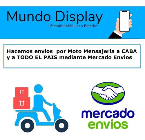 modulo display moto z2 play pantalla touch lcd  envio gratis