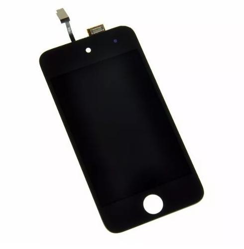 modulo display tactil lcd pantalla ipod 4 4g original negro