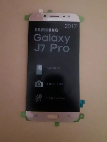 modulo display vidrio tactil lcd full hd samsung j7 pro j730