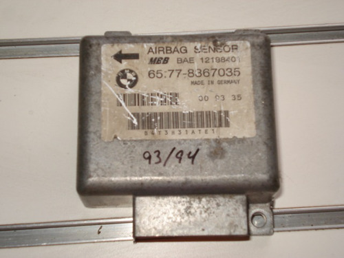 modulo do air beg airbeg do painel da bmw 93/94 original