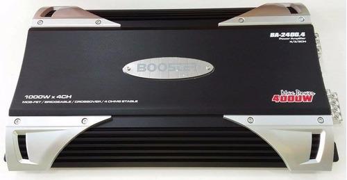 módulo e amplificador automotivo booster ba-2400.4 3000watts
