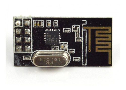 módulo emissor receptor radio frequência 2,4ghz nrf24l01