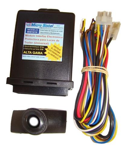 módulo emulador interfaz para luces de trailer - duster oroch