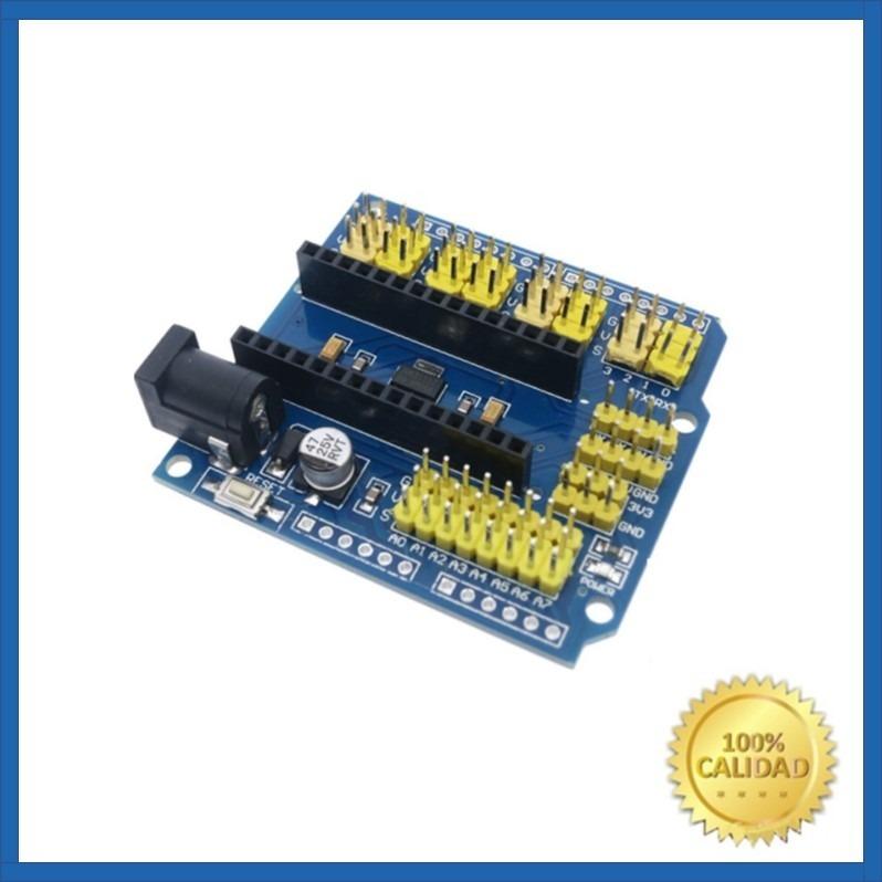 Módulo Expansión Shield Para Arduino Nano Cdmex